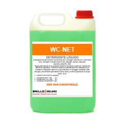 Tanica da 5 litri wc-net verde detergente universale