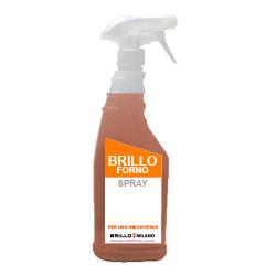 Nebulizzatore da 750 ml Brillo Forno detergente verde universale.
