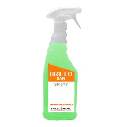 Nebulizzatore da 750 ml Brillo San detergente verde universale.